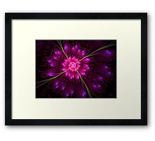 Flowering Eclipse Framed Print