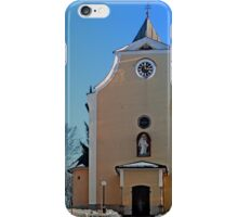 The village church of Berg bei Rohrbach I | architectural photography iPhone Case/Skin