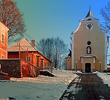 The village church of Berg bei Rohrbach I   architectural photography by Patrick Jobst