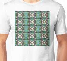 Green Geometric Abstract Pattern Unisex T-Shirt