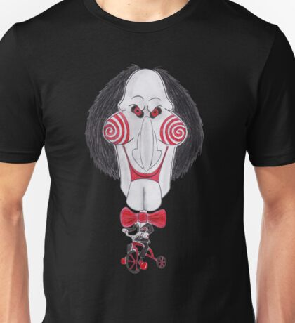Horror Movie Puppet Caricature Unisex T-Shirt