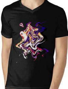 EjProject - Psychedelic 003 Mens V-Neck T-Shirt