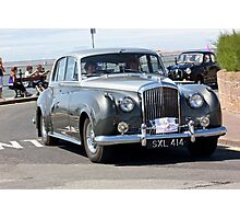 Vintage Two-Tone Bentley, West Kirby, July 2014 Photographic Print