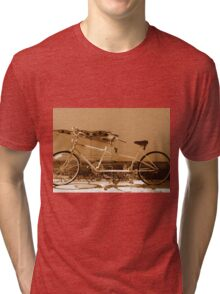 Our Bicycle Built For Two Tri-blend T-Shirt