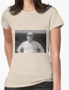 Babe Ruth - Red Sox Womens Fitted T-Shirt