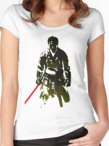 samurai Women's Fitted Scoop T-Shirt