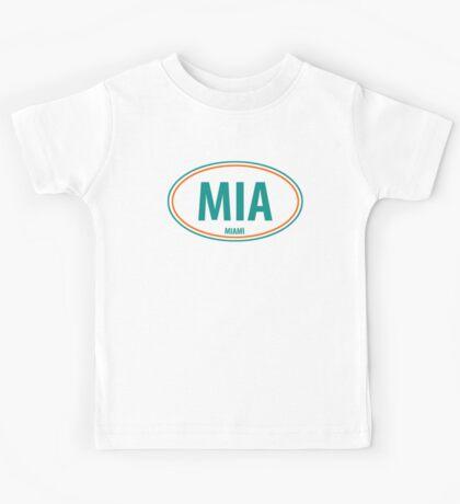 MIA - EURO STICKER Kids Tee