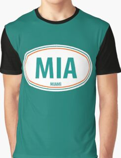 MIA - EURO STICKER Graphic T-Shirt
