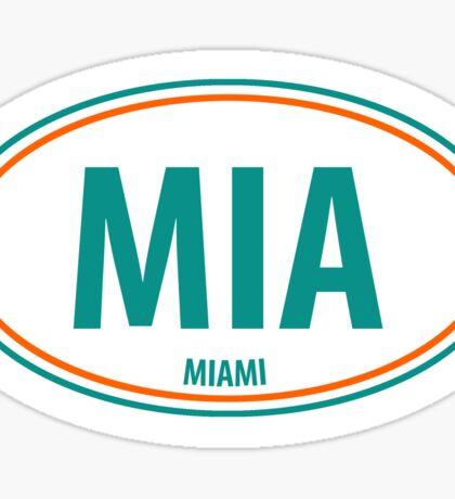 MIA - EURO STICKER Sticker
