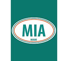 MIA - EURO STICKER Photographic Print