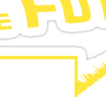 JS to the future Sticker