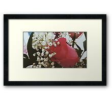 Blurry Innocence  Framed Print