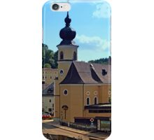 The village church of Helfenberg II | architectural photography iPhone Case/Skin