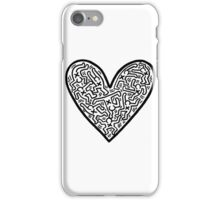Keith Haring Heart iPhone Case/Skin