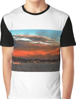 Nautical Bold Sunrise. Original exclusive photo art. Graphic T-Shirt