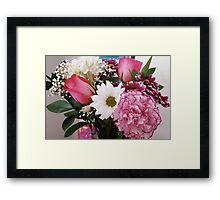 Floral Party Framed Print