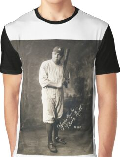 Yours Truly, Babe Ruth - NY Yankees Graphic T-Shirt