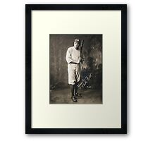 Yours Truly, Babe Ruth - NY Yankees Framed Print