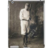 Yours Truly, Babe Ruth - NY Yankees iPad Case/Skin