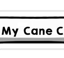 I Love My Cane Corso Sticker