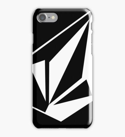 Volcom Stone Black on #fff iPhone Case/Skin