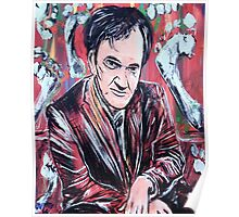 Quentin Tarantino & Friendly Toes Poster