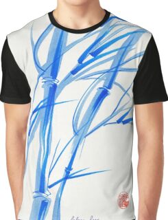 SOFT BREEZE - Original watercolor ink wash painting Graphic T-Shirt