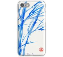 SOFT BREEZE - Original watercolor ink wash painting iPhone Case/Skin