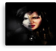 EVIL QUEEN-REGINA MILLS Canvas Print