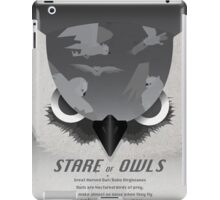 Stare of Owls iPad Case/Skin