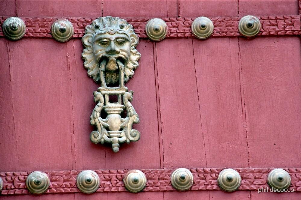 Door Knocker by phil decocco