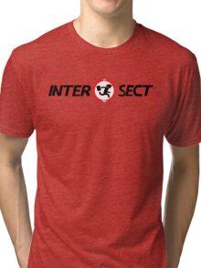 INTERSECT (NERD HERD) - Light Tri-blend T-Shirt