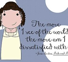 The More I See of the World by Jen  Talley