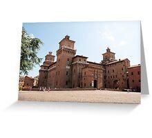 Ferrara - Castello Estense Greeting Card