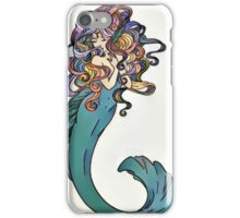 Colorful Mermaid Art iPhone Case/Skin