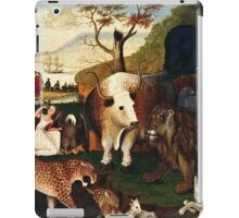 Edward Hicks - The Peaceable Kingdom1868  iPad Case/Skin