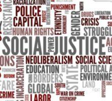 Social justice Sticker