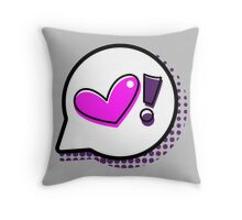 Pop Bubble - Heart Throw Pillow