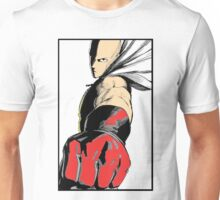 one_man_punch_fist_color Unisex T-Shirt