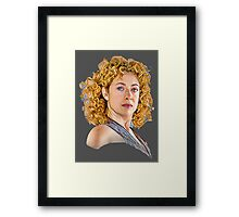 Professor River Song, The Doctor's Wife Framed Print