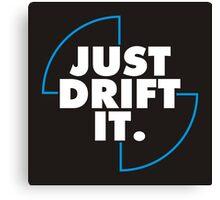 Just drift it (BMW) Canvas Print