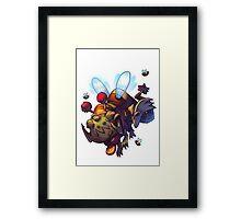Bumble Gnaw - Awesomenauts Framed Print