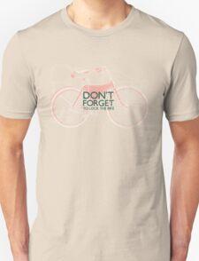 Vintage Hipster Gifts For Bike Lovers Design Unisex T-Shirt