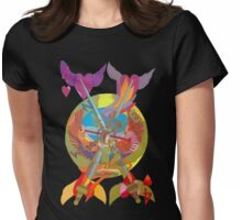 On the Four Winds Does My Heart Fly Womens Fitted T-Shirt