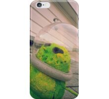 Alien Snowman 02 iPhone Case/Skin