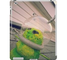 Alien Snowman 02 iPad Case/Skin