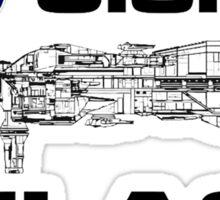 Aliens USS Sulaco crest Sticker