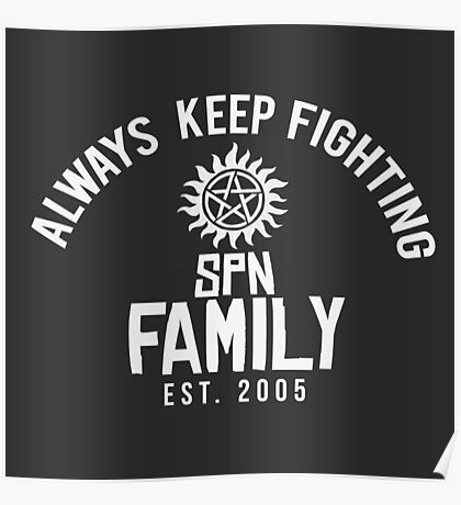Always Keep Fighting (AKF) #2 Poster