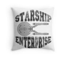 Star Trek - Enterprise NX-01 Logo Throw Pillow