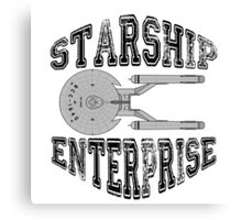 Star Trek - Enterprise NX-01 Logo Canvas Print